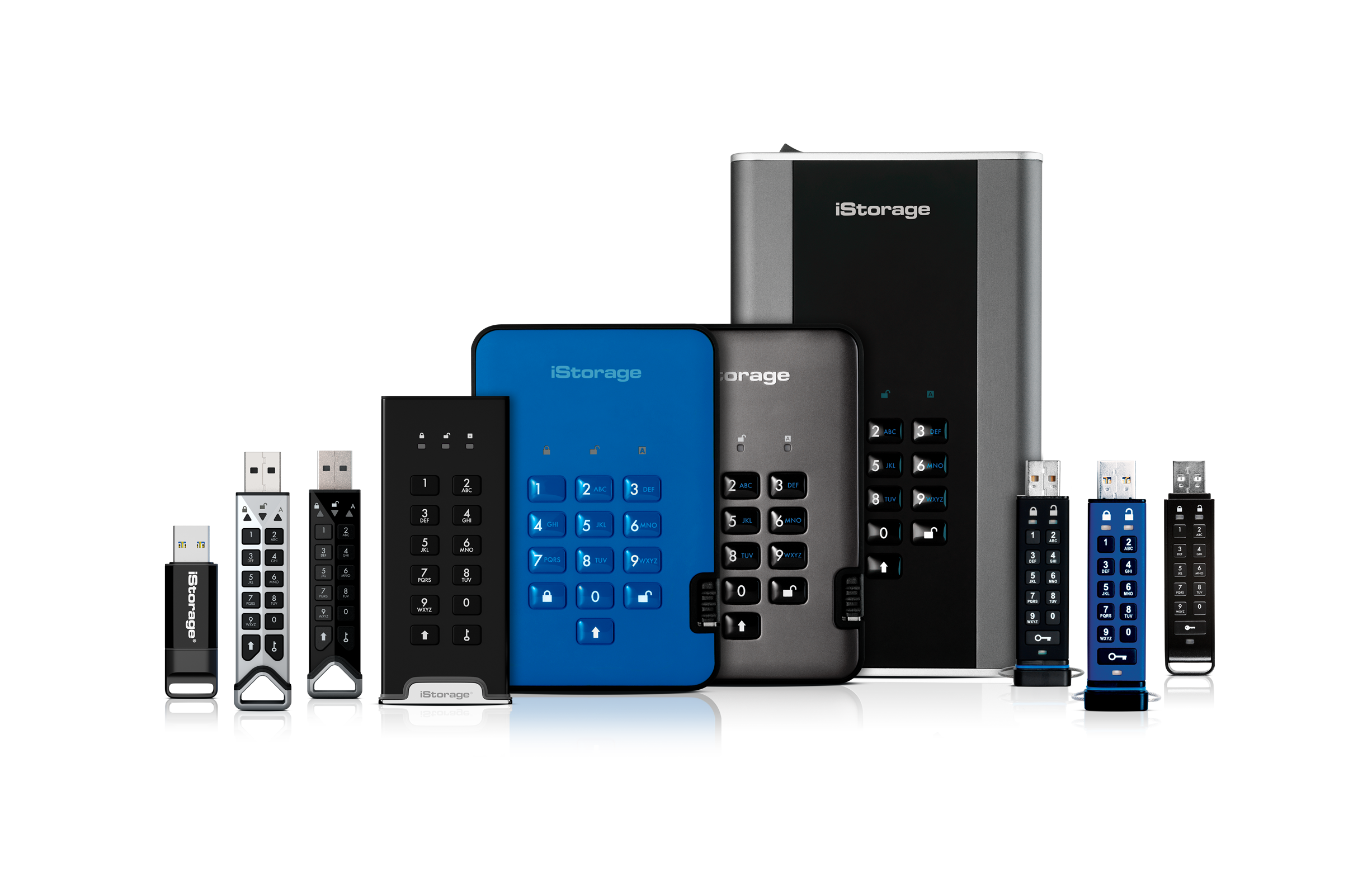 iStorage full product range